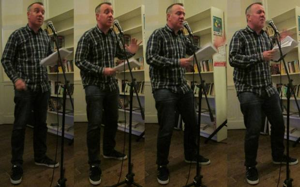Reading at Crescent Arts Centre 02/05/2013